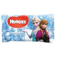 Servetele umede bebelusi Huggies BW Natural Care 56 Disney Frozen