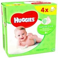 Servetele umede bebelusi Huggies BW Natural Care Quad (56x4)