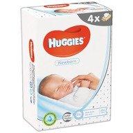 Servetele umede bebelusi Huggies BW Newborn Quad (56x4)