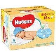 Servetele umede bebelusi Huggies BW Pure 12 pack (56X12)