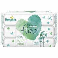 Pampers - Servetele umede Aqua Pure (3x48buc)