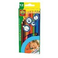 SES Set 12 Creioane Colorate