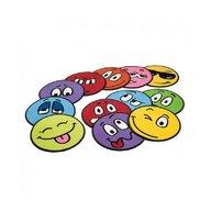 Erzi - Set 10 covorase colorate Emotii,
