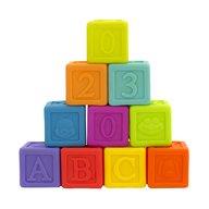 Playgro - Set 10 cuburi educative litere