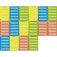 Larsen - Set 16 Puzzle-uri 0 - 100, 25 piese