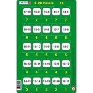 Larsen - Set 16 Puzzle-uri 0 - 20, 25 piese