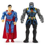 Spin Master - Set figurine Superman si Darkseid , DC Universe , Cu 6 accesorii, Flexibil