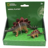National Geographic - Set 2 figurine, Stegosaurus