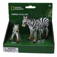 National Geographic - Set 2 figurine, Zebra