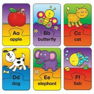 Galt - Set 26 de puzzle-uri Alfabet (2 piese)