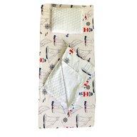 Deseda - Set 3 piese de iarna paturica cu cearsaf si pernuta pentru pat 140x70 cm  Farul
