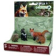 Collecta - Set 4 figurine Animale din padure