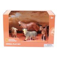 National Geographic - Set 4 figurine Animalute de la ferma
