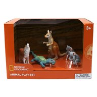 National Geographic - Set 4 figurine Cangur, Ursi Koala, Soparla, Vulpe