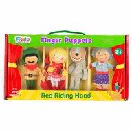 Fiesta Crafts - Set 4 Marionete pentru deget Scufita Rosie
