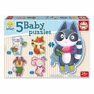 Educa - Set 5 puzzle Baby 5.2
