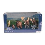 National Geographic - Set 5 figurine Animalute Salbatice