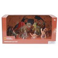National Geographic - Set 6 figurine Spinosaurus, Tyrannosaurus, Stegosaurus, Iguanodon