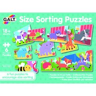 Galt - Set 6 puzzle - Animalute jucause (3 piese)