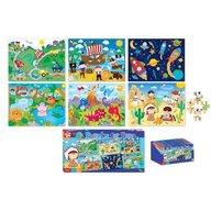 Set 6 puzzle baieti 5 ani