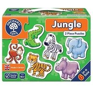 Orchard Toys - Set 6 puzzle Jungla, 12 piese
