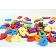 Miniland Set 66 litere mici magnetice - Miniland