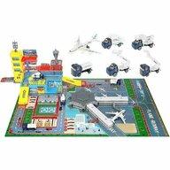 Iso Trade - Set de joaca Aeroport Cu pista