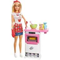 Barbie - Papusa  Set cu bucatarie FHP57 by Mattel I can be