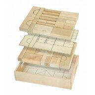 Viga - Set de constructie Multifunctional Blocuri arhitecturale , 46 buc, Natur