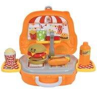 Hauck Toys - Set Burger Truck Shop