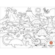 Prince Lionheart - Set complet pentru desen cu plansa refolosibila din silicon Dino