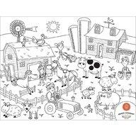 Prince Lionheart - Set complet pentru desen cu plansa refolosibila din silicon Ferma