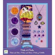 Djeco - Set confectionat bijuterii, stele