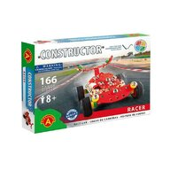 Alexander Toys - Set de constructie Vehicul Racer Masina de curse , Constructor , 166 piese metalice