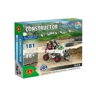 Alexander Toys - Set de constructie Vehicul Bob Incarcatorul frontal , Constructor , 181 piese metalice