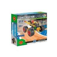 Alexander Toys - Set de constructie Vehicul Monster truck , Constructor , 211 piese metalice