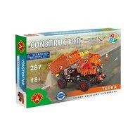 Alexander Constructor - Set constructie 287 piese metalice Constructor Terra Basculanta, Alexander