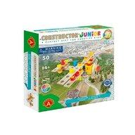 Alexander Toys - Set de constructie Avion , Constructor Junior ,  50 piese din Lemn