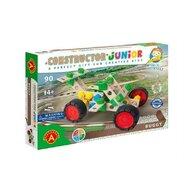 Alexander Toys - Set de constructie Vehicul Buggy , Constructor Junior , 3 in 1, 90 piese din Lemn
