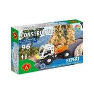 Alexander Toys - Set de constructie Vehicul Expert Camion Pick-up , Constructor , 96 piese metalice