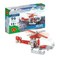 Alexander Constructor - Set constructie 96 piese metalice Constructor Helios Elicopter, Alexander