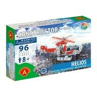 Alexander Toys - Set de constructie Elicopter Helios , Constructor , 96 piese metalice