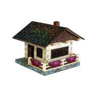 Walachia - Set constructie arhitectura Cabanuta alpina, 102 piese din lemn,