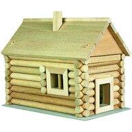 Walachia - Set constructie arhitectura Vario Massive Mini, 91 piese mari din lemn,