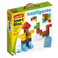 Quercetti - Set constructie copii Smart Bloc, 11 piese multicolore
