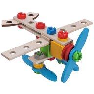Eichhorn - Set constructie din lemn Airplane, 40 piese