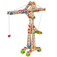 Eichhorn - Set constructie din lemn Crane, 170 piese