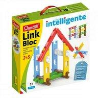 Quercetti - Set constructie Link Bloc pentru copii, 12 piese