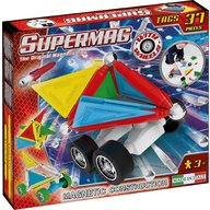 Supermag - Set constructie Tags Wheels, 37 piese