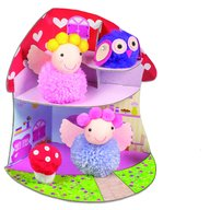 Galt - Set creativ Fairy Pompom House